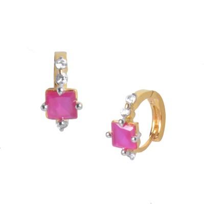 Orolush Brass Huggie Earring