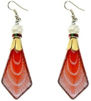 Being Women Elegant Orange Fashion Alloy Dangle Earring