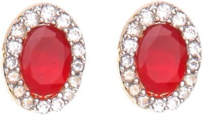 Crimson21 Artificial Princess Delight Alloy Stud Earring