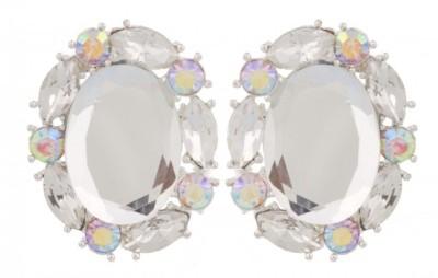 Passion @ Zeevstar Crystal Stud Crystal Clip-on Earring