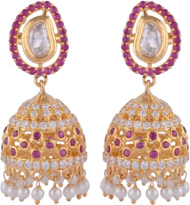 Sanaya Collection SAN-Jhumki Alloy Jhumki Earring