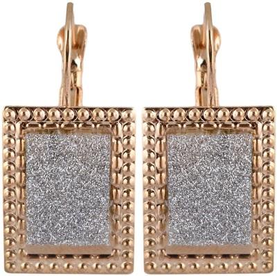 Golden Petals Shine W Alloy Clip-on Earring