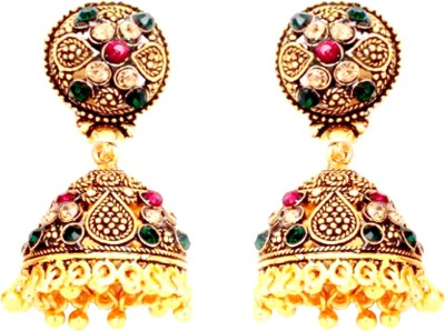 Fashion Frill Antique Metal Jhumki Earring