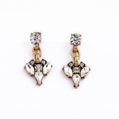femnmas Crystal Fashion Celebrity Zinc Dangle Earring