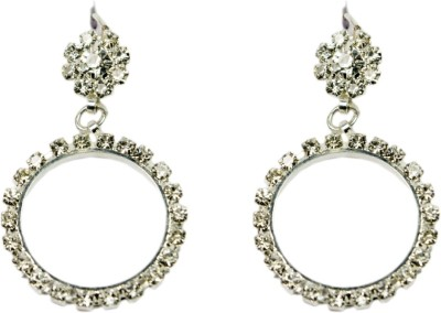 Percias Studed Ring Droplet Brass Drop Earring