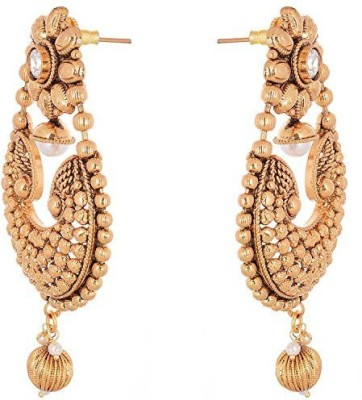 Vanshika Jewels Traditional Alloy Chandelier Earring