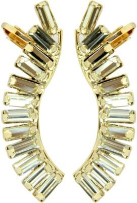 Peora Baguette Alloy Cuff Earring