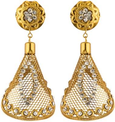 CTW Bollywood Net Copper Alloy Jhumki Earring