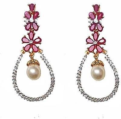 Uzuri Classic Copper Drop Earring