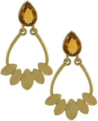 Naveli Antique Brass Dangle Earring
