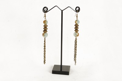 FreshMe Fashion Jewellery Pretty Good Brass Dangle Earring