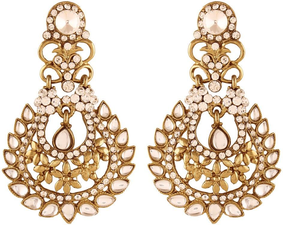 Deals - Delhi - Latest Trend <br> Chandelier Earrings<br> Category - jewellery<br> Business - Flipkart.com