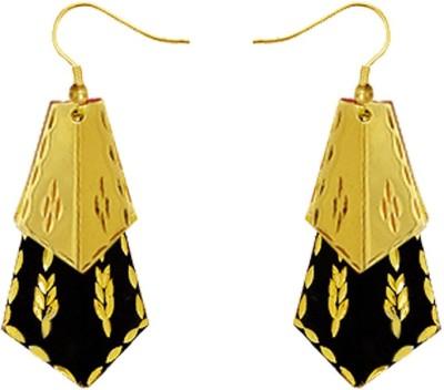Kenway Retail Nocturnal Joy Brass Dangle Earring