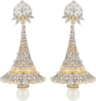 Fashionage Pretty Please Alloy Jhumki Earring