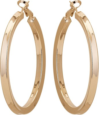 Adwitiya Collection Princess Delight Copper Hoop Earring