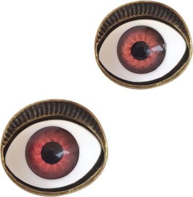 KooKoo Fashion Devil Evil Eye Alloy, Copper Stud Earring