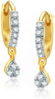 Chrishan american diamond Alloy Hoop Earring