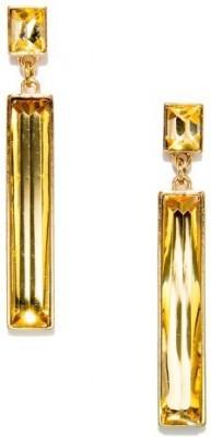 Oomph Gold Crystal Fashion Jewellery for Women, Girls & Ladies Metal Drop Earring