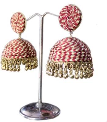 Aza Collections Beautiful Alloy Jhumki Earring