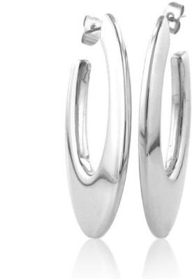 Netaya Chic and Fun Stainless Steel Hoop Earring