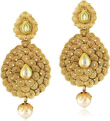 TAKSPIN Ethnic traditional bollywood ( Party Wear Indian jewellry Alloy Drop Earring