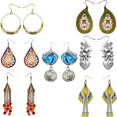 Kenway Retail 7 Days Gift Pack Glass Earring Set
