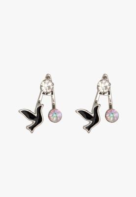 Krafftwork O Alloy Stud Earring
