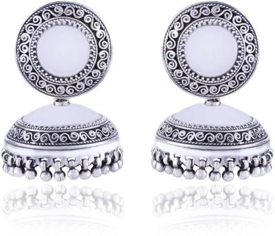 Aashirwad AJ1 Sterling Silver Jhumki Earring
