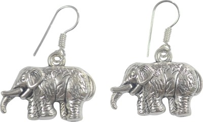 MPCI White Elephant Brass Dangle Earring