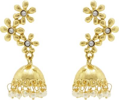 Ishaani Love Forever Cubic Zirconia Alloy Jhumki Earring