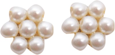Classique Designer Jewellery Pearl Copper Stud Earring