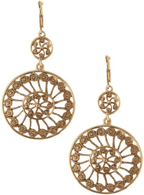 Jewelizer Style Diva Crystal Alloy Dangle Earring
