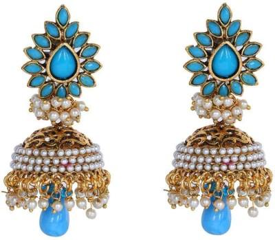 Jwells & More Dazzling Alloy Jhumki Earring