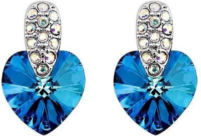 Ouxi Crystal Zinc Stud Earring