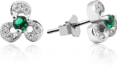 Jewel99 Ailith Swarovski Zirconia Sterling Silver Stud Earring