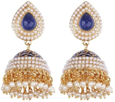 Rajwada Arts Traditional Brass Jhumki Earring