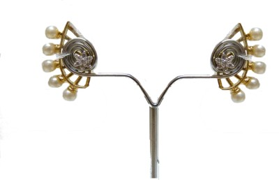 SareesHut EAR3 Cubic Zirconia Alloy, Stone Cuff Earring