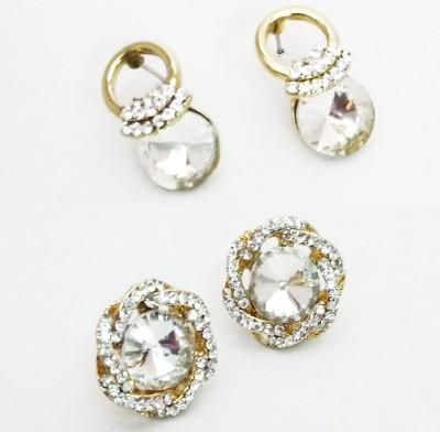 NEHASTORE Combo Offer CB25 Mother of Pearl Alloy Earring Set