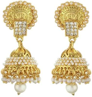 Chrishan PEARL Alloy Jhumki Earring