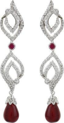 Dilan Jewels EAR000033 Zircon Sterling Silver Drop Earring