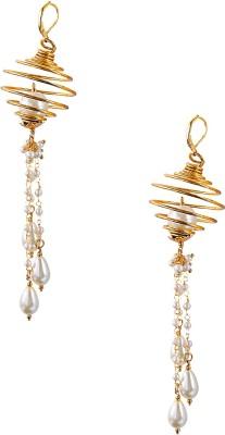 Sparsh Designer Dangle Alloy Hoop Earring