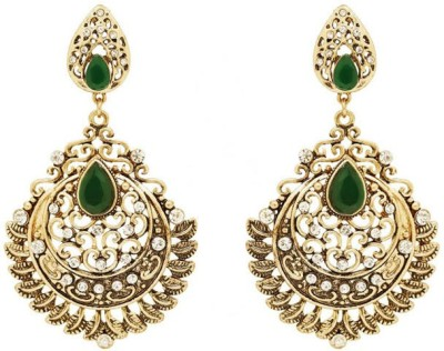 Saashis Closet Glimmer Alloy Chandelier Earring