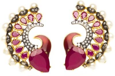 Joyas Stylish Look Brass Cuff Earring