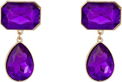 A Bit of Me Magnificent in Purple Alloy Dangle Earring