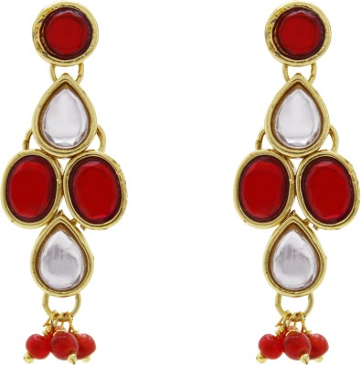 Ishaani Love Forever Brass Drop Earring
