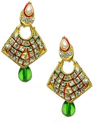 Shine My Life Bela Alloy Chandbali Earring