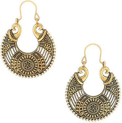 Crazytowear Traditional Alloy Hoop Earring