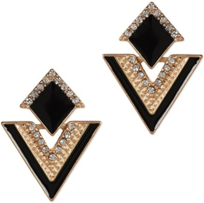 Ambitione Fashionable Cubic Zirconia Alloy Stud Earring