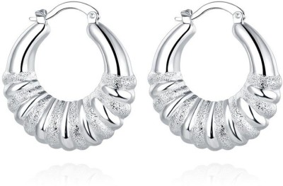 Roma Brothers round bali Brass Clip-on Earring