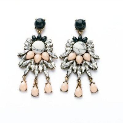 femnmas Luxury Fashion pendant Zinc Chandelier Earring